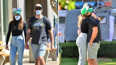 Aaron Rodgers, Shailene Woodley Pack On PDA During Easter Disney World Trip