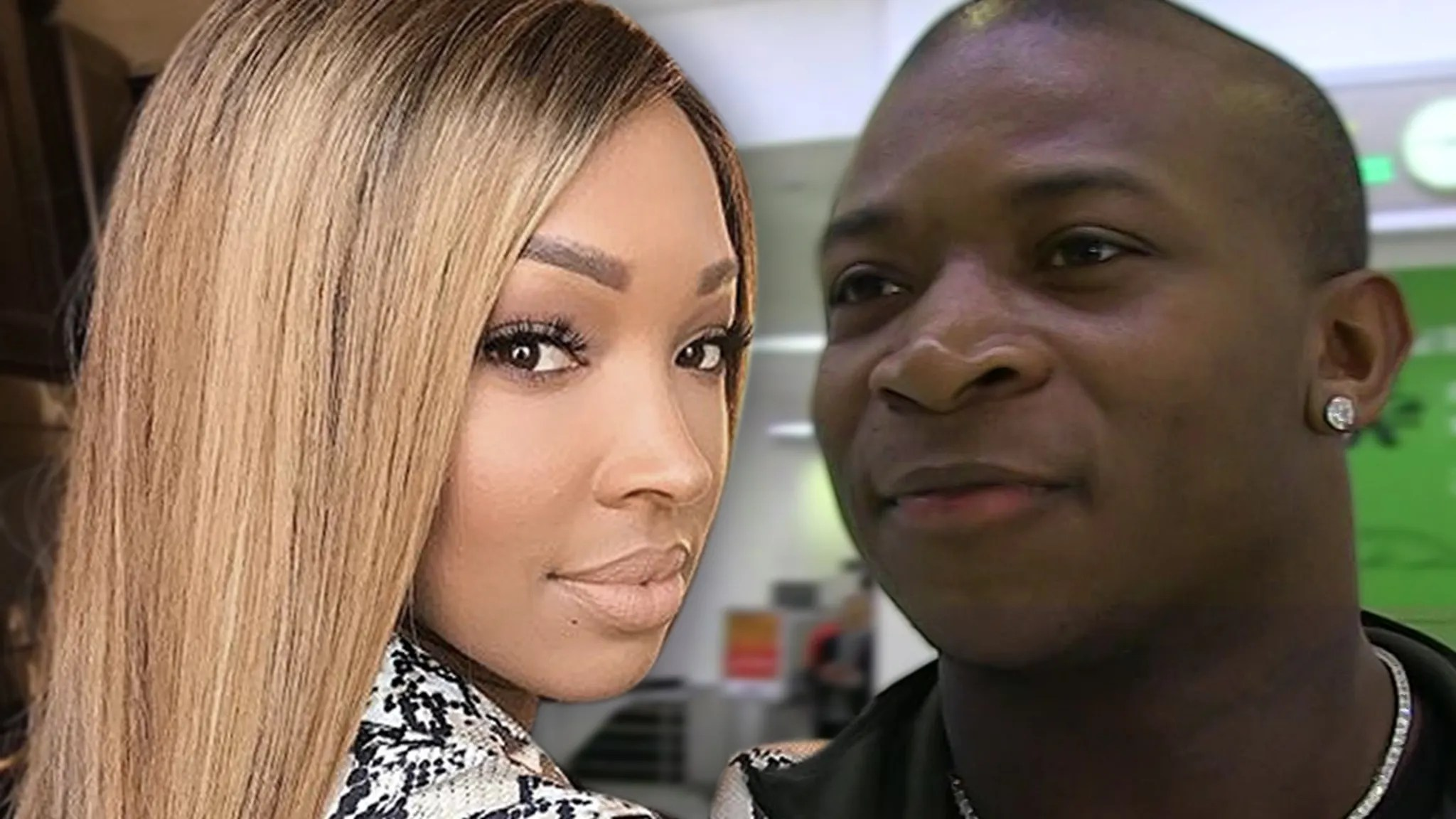 Malika Haqq and O.T. Genasis on Same Page with Co-Parenting Baby Boy