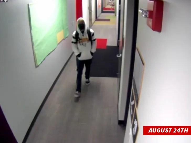 Matthew Mindler surveillance footage