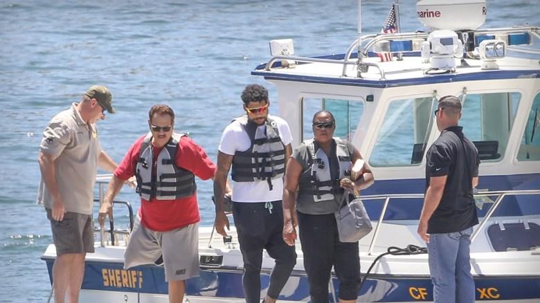 Naya Rivera's Mother, Brother Help Search Lake Piru in Emotional ...