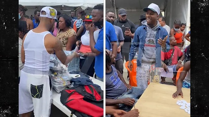, Tory Lanez Heads Down to Southern Texas Border for Haitian Migrant Relief, Nzuchi Times National News