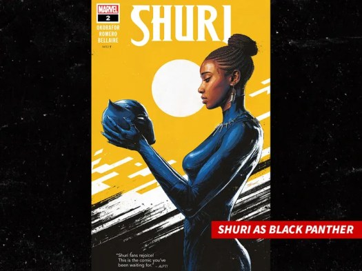 Michaela Coel's 'Black Panther' Casting Spurs Theory Letitia Wright's Out 2