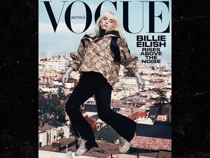 Billie Eilish Vogue cover