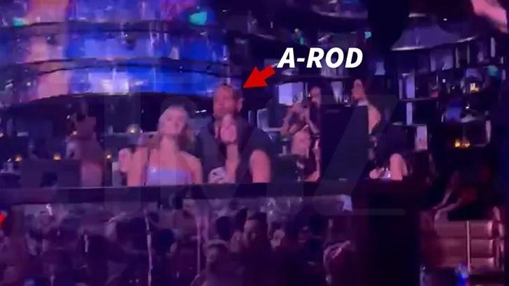 A-Rod Parties, Danses avec 3 femmes à Vegas 2