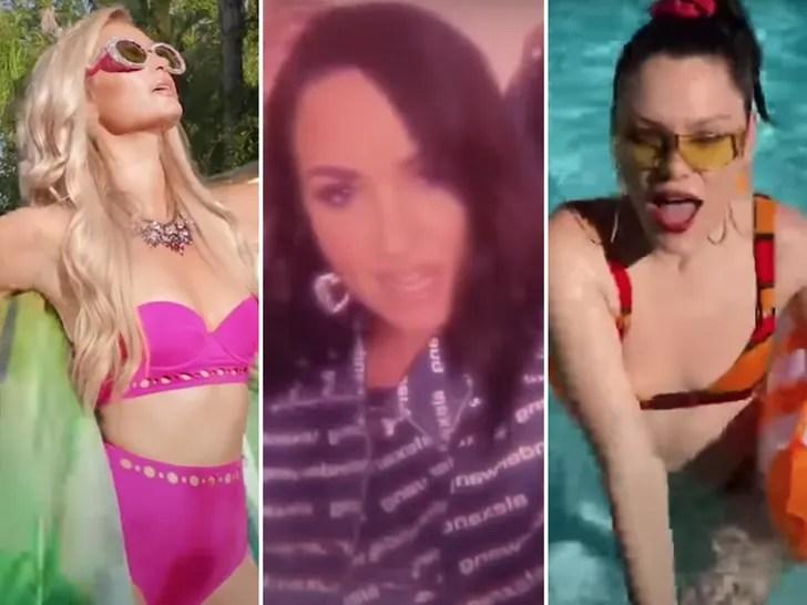 "Famous Cameos In Kim Petras' ""Malibu"" Video"