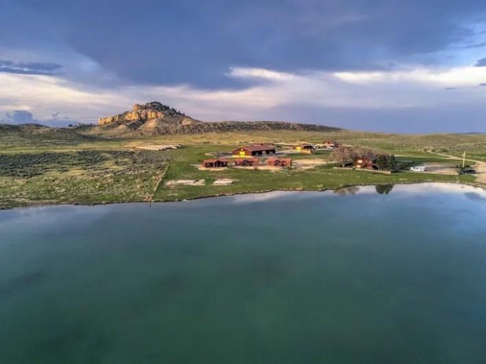 Inside Monster Lake Ranch in Wyoming