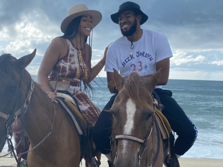 Karl-Anthony Towns and Jordyn Woods Together