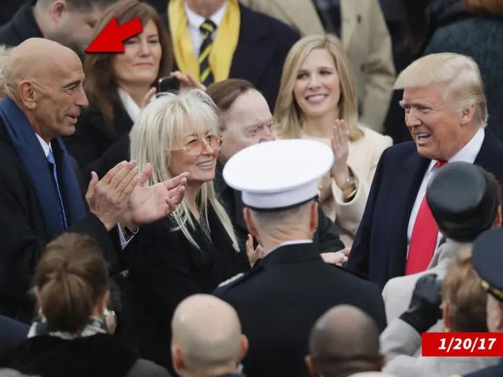 Donald Trump and Thomas Barrack