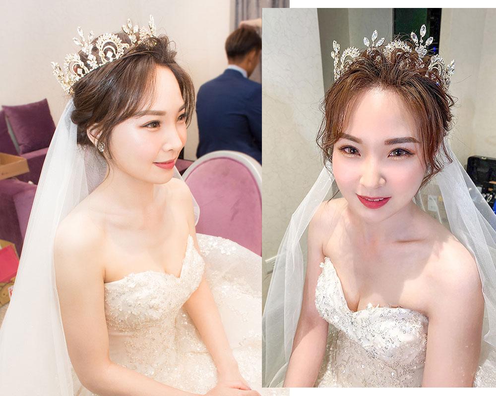 小清新公主風新娘造型 Bride-宛蓁 - Maggie wang 新娘秘書