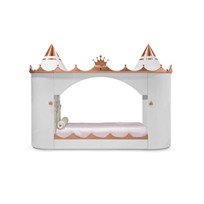 Kings And Queens Castle Bed Copper