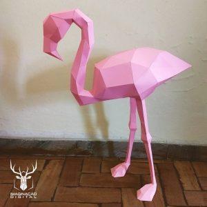 Escultura de Flamingo
