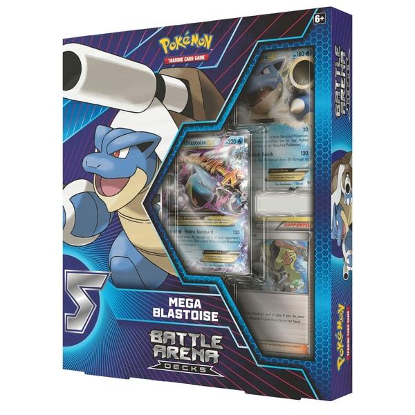 Pokemon Mega Blastoise Battle Arena Deck B60 Accesories Mega Charizard X Vs Mega Blastoise Pokemon