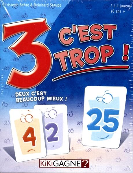 Jeu De Carte A 3 : carte, C'EST, (FRANÇAIS), CARTES, FAMILIAUX