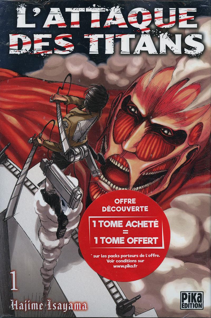 L'attaque Des Titans Dernier Tome : l'attaque, titans, dernier, ATTAQUE, TITANS,, DÉCOUVERTE, (V.F.), ALBUMS, FRANCAIS, SEINEN