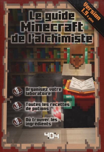 Comment Faire Un Livre Dans Minecraft : comment, faire, livre, minecraft, MINECRAFT, GUIDE, L'ACHIMISTE, VERSION, LIVRES, RÉFÉRENCE, VIDÉO