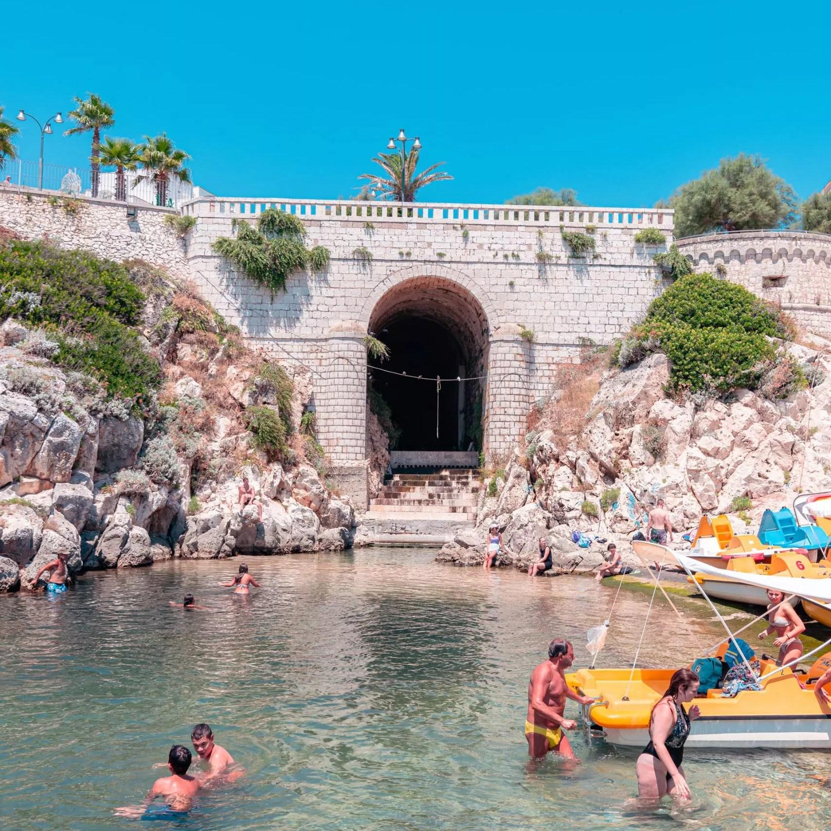 Aeneas' Landing at Castro Marina | Low Salento tour | Puglia