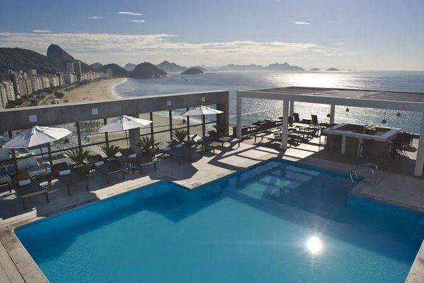 5 Hoteles con Piscina en Copacabana