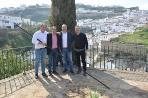 Una panda de amigos envidiable: Pepe García, Antonio Zamudio, Sebastián y Pedro Caballero. Foto: MARÍA GUZMÁN JIMÉNEZ