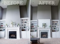 Remove Fireplace Mantel - Image Collections Norahbennett ...