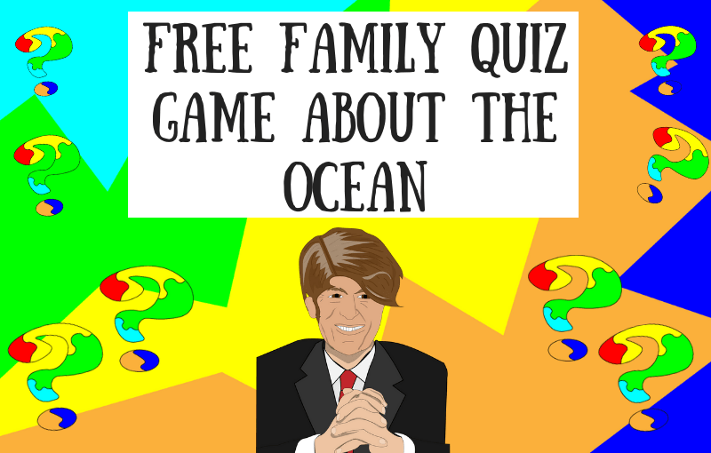 Free Family Quiz Game About the Ocean