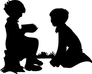 children-silhouette-clip-art