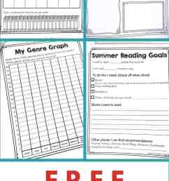 Free Summer Reading Printable Packet for Kids Ages 6 - 13 [ 1800 x 900 Pixel ]
