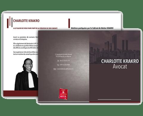 Cabinet d'avocat Charlotte Krakro
