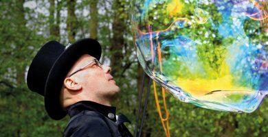 animations souffle dans la bulle
