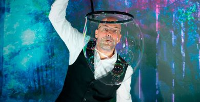 bulles dans la bulle