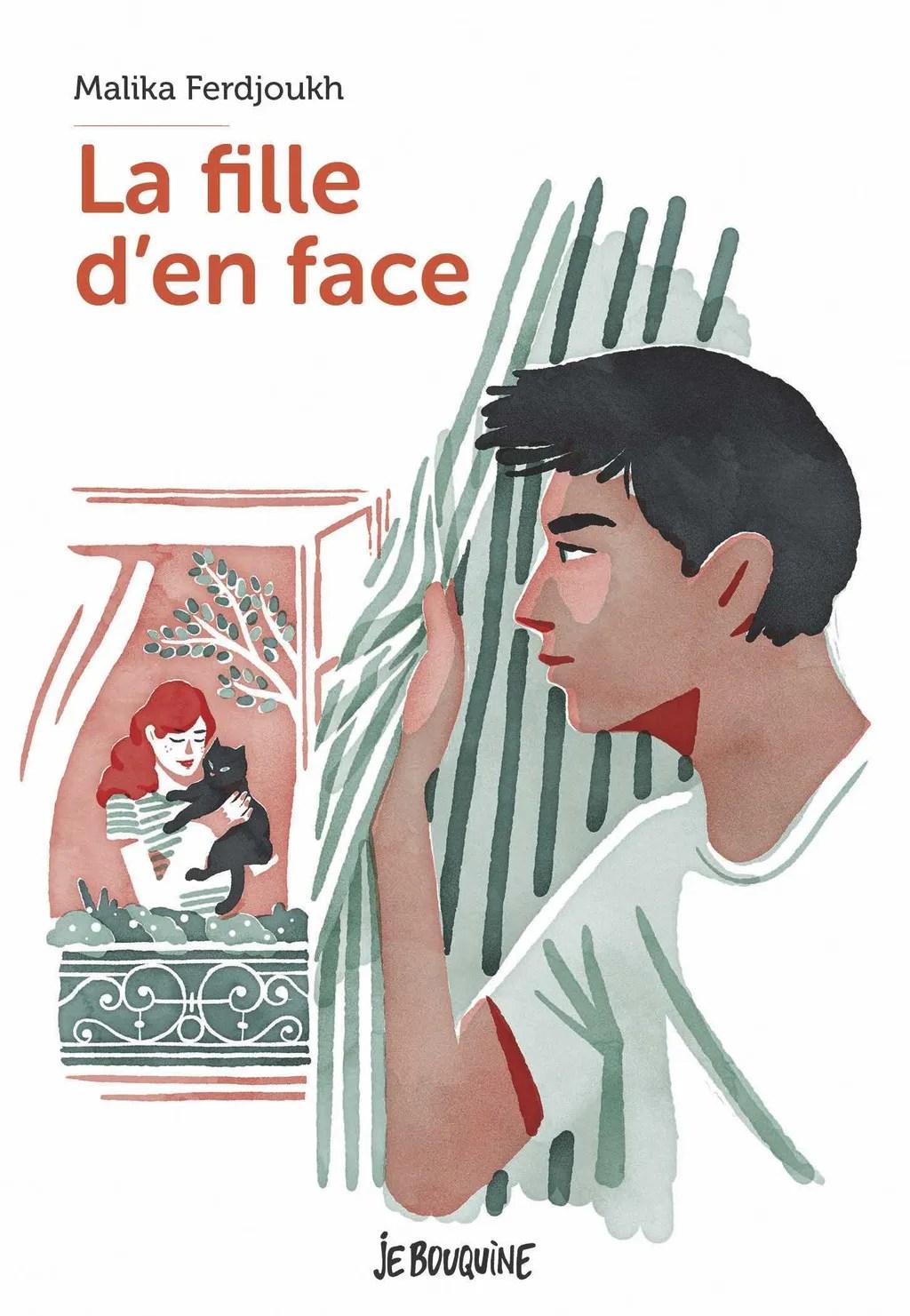 La Fille D En Face : fille, Fille
