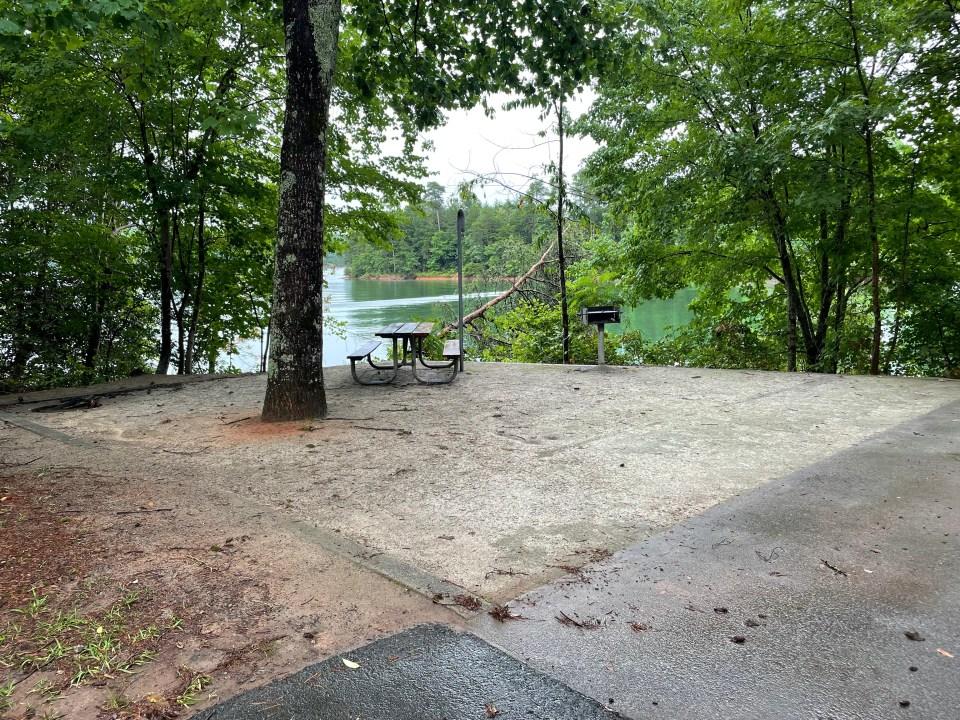 Site 108 Duckett Mill Campground