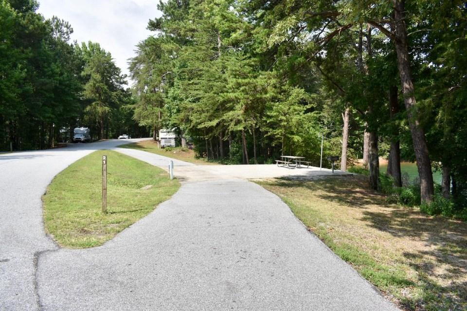 Site 22 Duckett Mill Campground