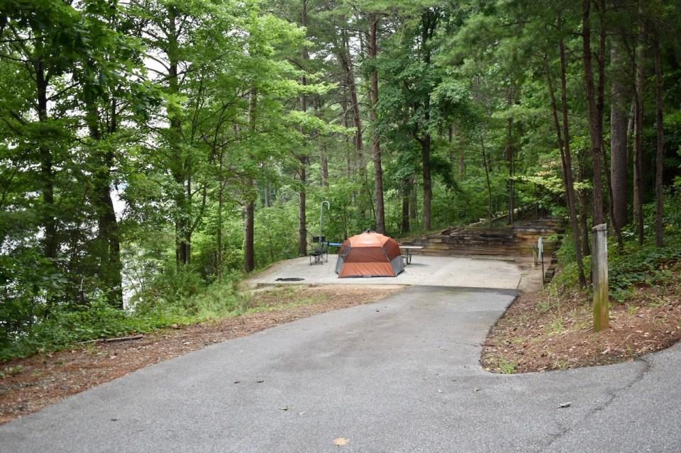 Site 46 Duckett Mill Campground