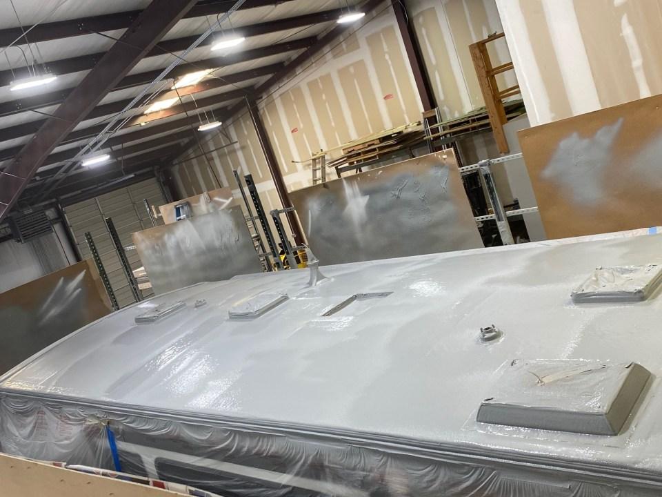 Flex Armor RV Roof Sprayed