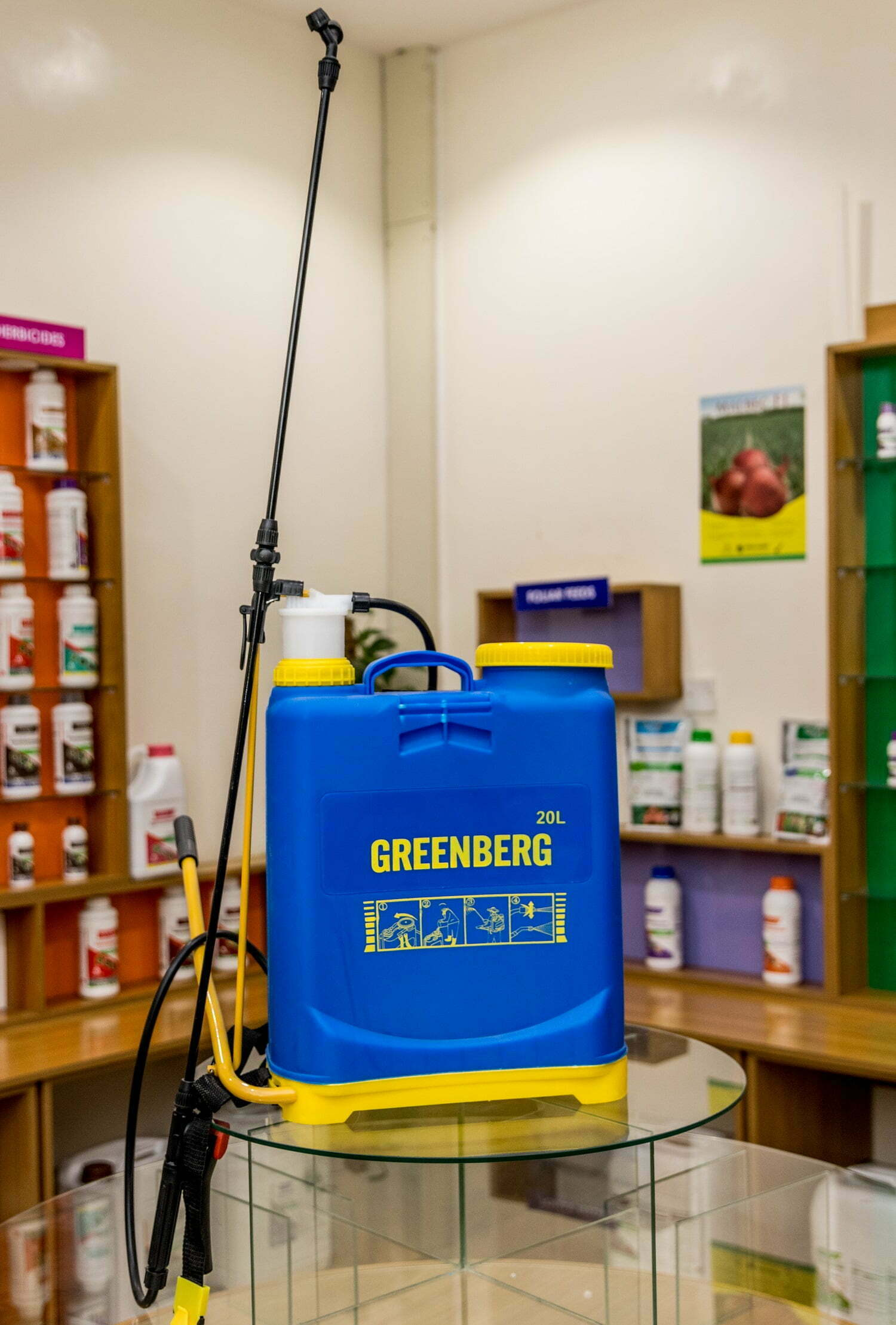 Greenberg knapsack Sprayer kenya