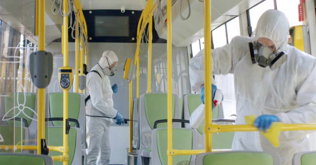 safety when using disinfectants
