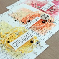 Cheerful Neon Cards