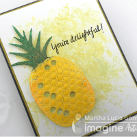 Learn How to Create a Delightful Pineapple Card