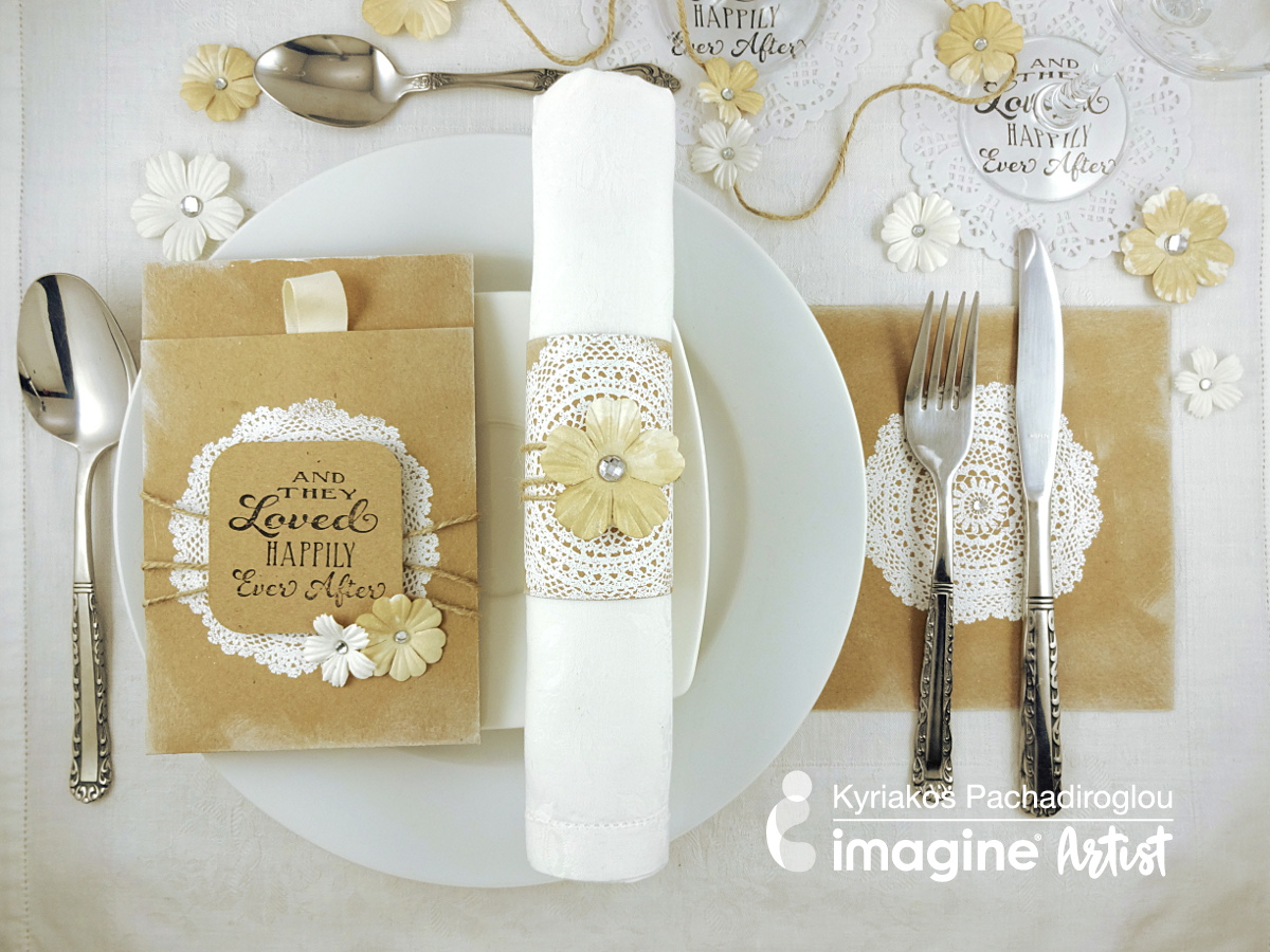 A Simple Elegant and Inexpensive Wedding Table Setting