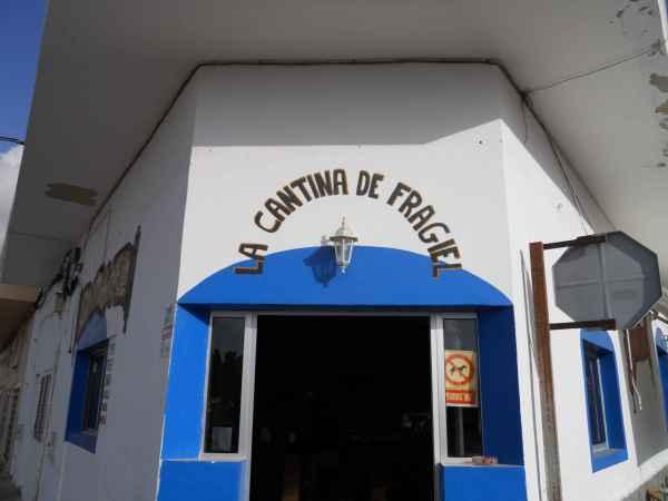 A El Cotillo, la Cantina de Fragiel