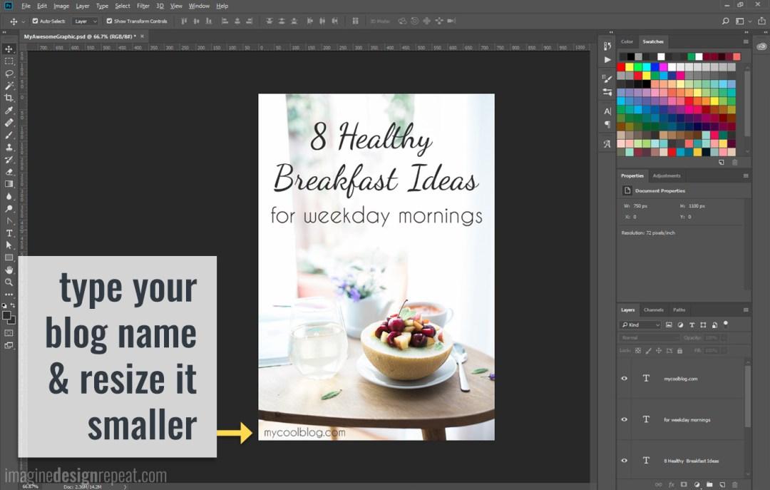Make Blog Post Graphics | Imagine Design Repeat