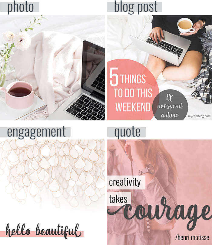 One Month of Instagram Graphics in One Hour | Imagine Design Repeat
