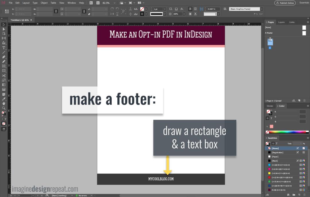 Checklist in InDesign | Imagine Design Repeat
