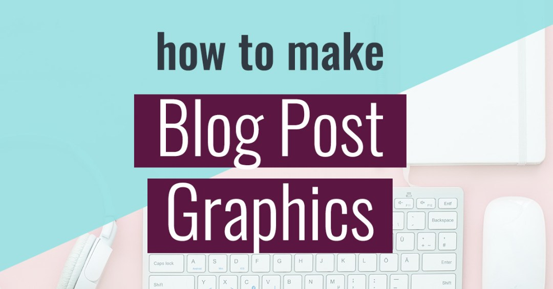 Think you can't use Photoshop? I'll show you how to make blog post graphics that you can start using TODAY.