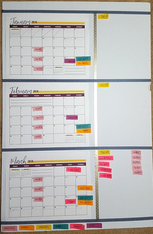 Free 2018 Calendar | Imagine Design Repeat