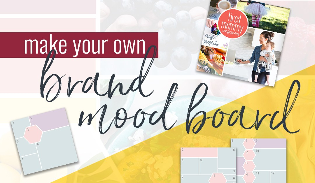 Make Your Own: Brand Mood Board (+ free templates)