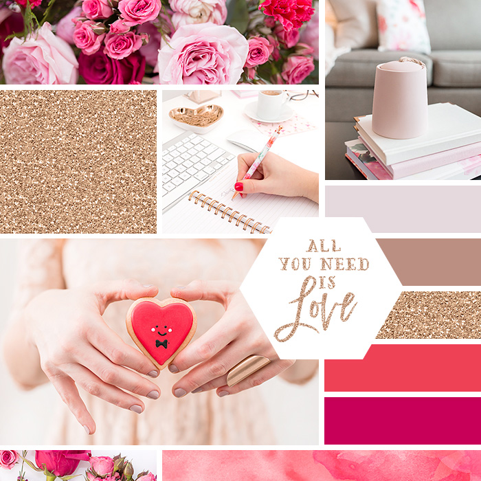 Make your own brand mood board! See some sample boards, and download your own set of mood board templates.