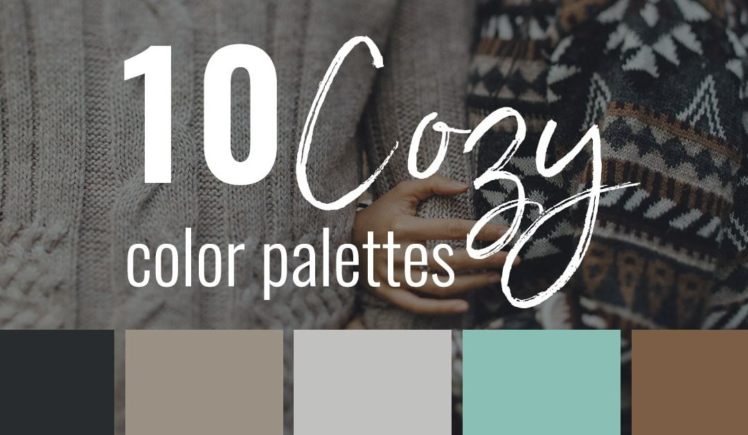 10 Cozy Color Palettes Perfect for Fall