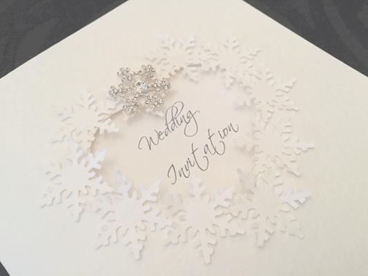Winter Themed Wedding Invitations: Wedding Invitations Gallery