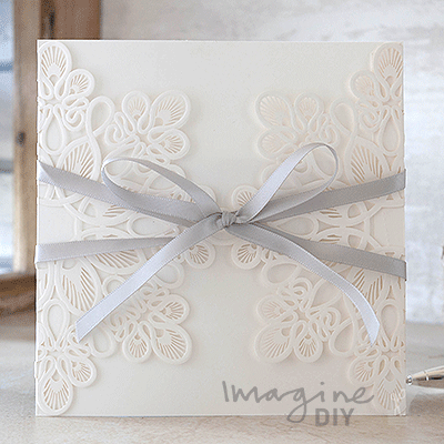 how to make embossed invitations